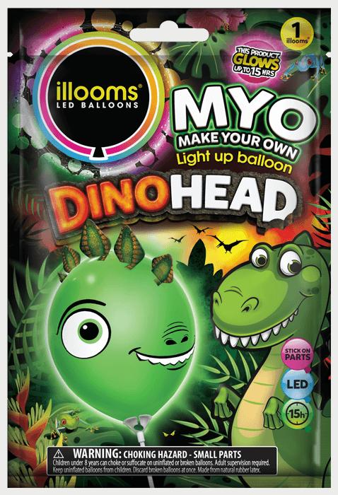 Dino Head Pack