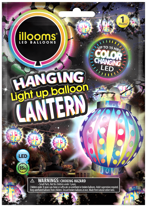 Colour Changing Lantern pack
