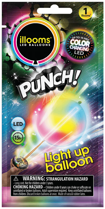 Colour Changing Punch 1 Pack