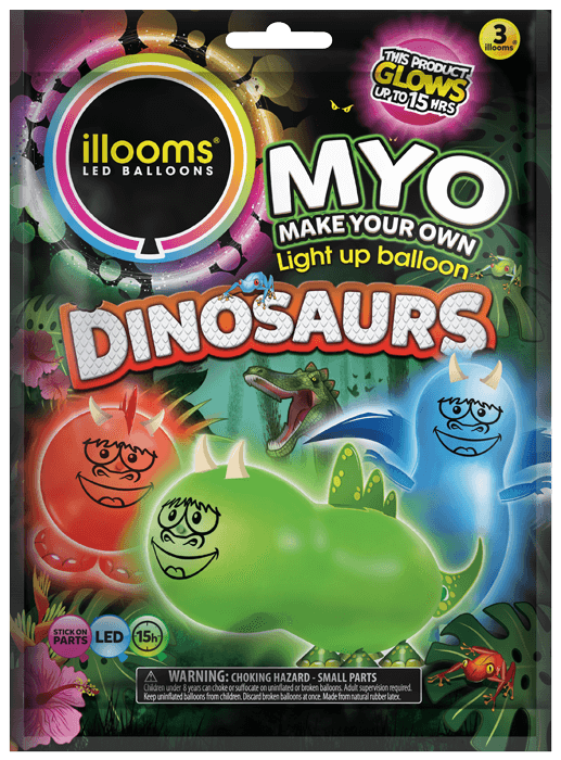 Make Your Own Dinosaurs 3 pack