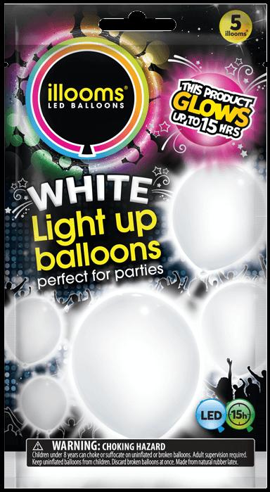 White 5 pack