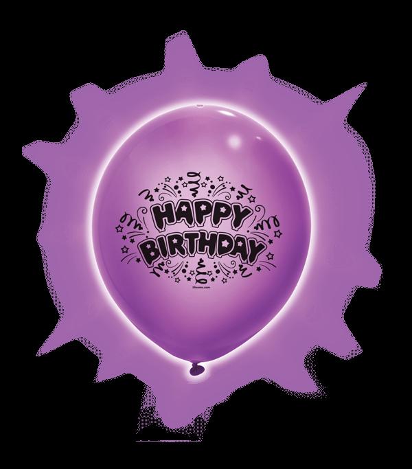 Purple 6 Ct. Balloon Fun Strings Party Decor